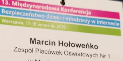 """13. Międzynarodowa Konferencja """"Bezpieczeństwo dzieci i młodzieży w internecie""""."""